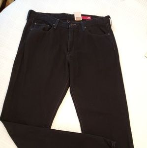 EXPRESS X2 MENS BLACK STRAIGHT LEG 34/34